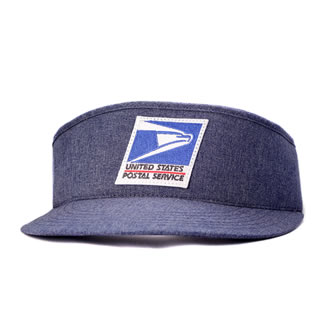 Sun Visor for Letter Carriers and Motor Vehicle Service Oper