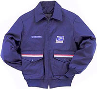Postal Jacket Bomber Style with Liner for Men Letter Carrier