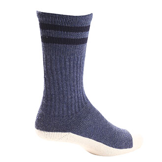 Pro Feet Postal Approved Cushioned Crew Health Socks - Large (PX46XL)