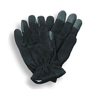 Black Leather Super Grip Gloves for Letter Carriers and Motor Vehicle Service Operators (PX19)