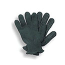 Knit Gloves with Black Dot Palms for Letter Carriers and Motor Vehicle Service Operators - Large (PX12)