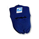 Knit Postal Cap with Face Mask for Letter Carriers and Motor