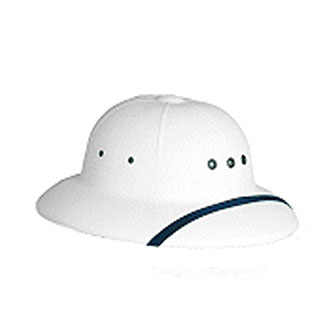 Plastic Sun Helmet for Letter Carriers and Motor Vehicle Service Operators (PX500)