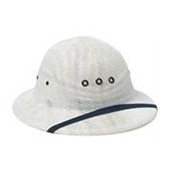 Sun Helmet with Woven Mesh for Letter Carriers and Motor Vehicle Service Operators (PX520)