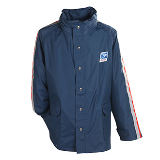 Mens Breathable Postal Rain Parka for Letter Carriers and Motor Vehicle Service Operators (PX650)