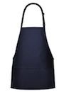 3-Pocket Bib Style Postal Apron in Navy or Royal NON REIMBUR