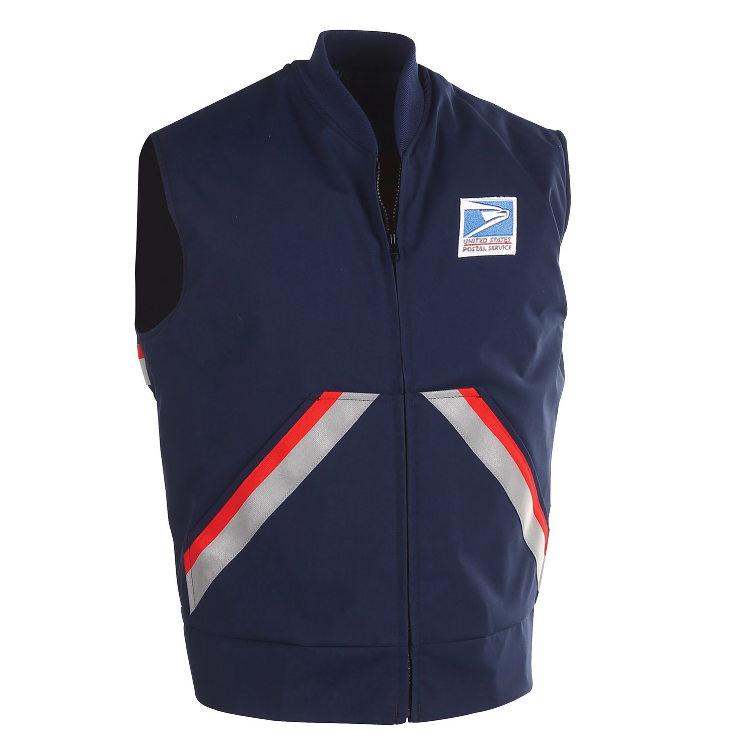 You. letter carrier uniform one sucking the