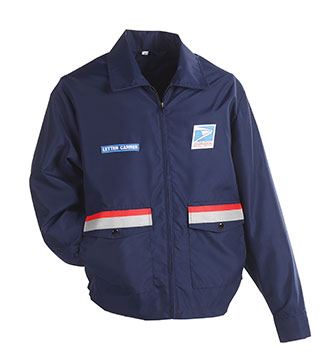 Postal Uniform Windbreaker for Men Letter Carriers and Motor Vehicle Service Operators (PX800)