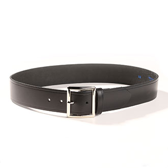 "Black Leather Belt 1-3/4"" Wide (PX30)"