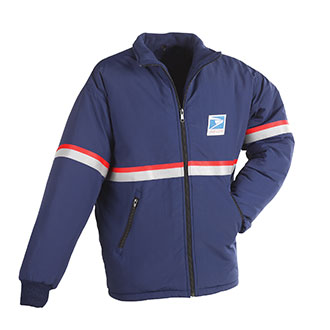 All Weather System Heavy Jacket/Liner for Men Letter Carriers and Motor Vehicle Service Operators (PX343)