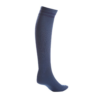 Pro Feet Postal Approved Blue Acrylic Over the Calf Socks - Medium  (PX44)