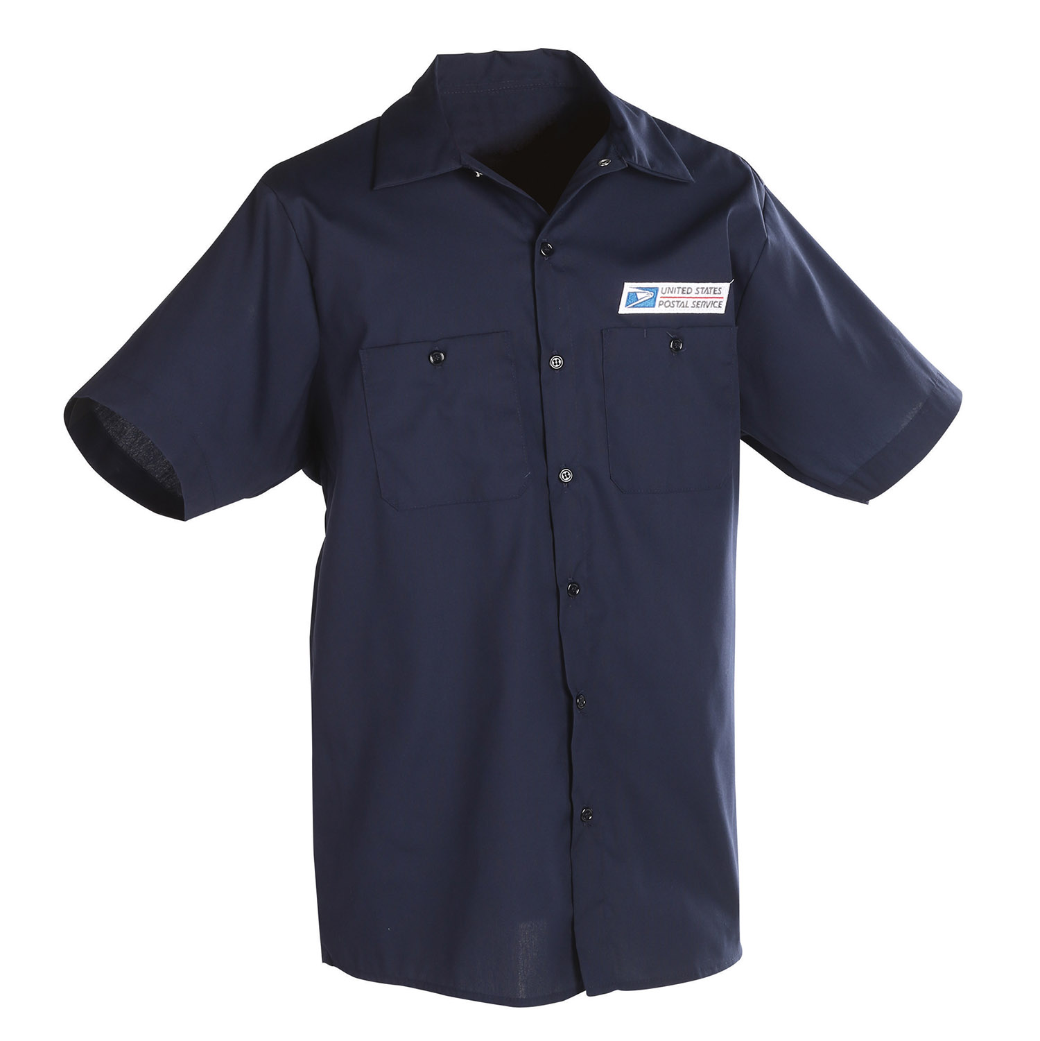 Postal Uniform Shirt Poplin Short Sleeve For Mail Handler