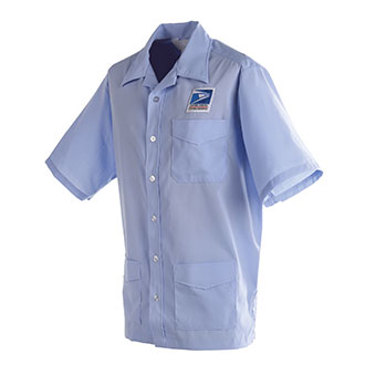 Postal Uniform Shirt Jac Mens for Letter Carriers and Motor Vehicle Service Operators (PX131)