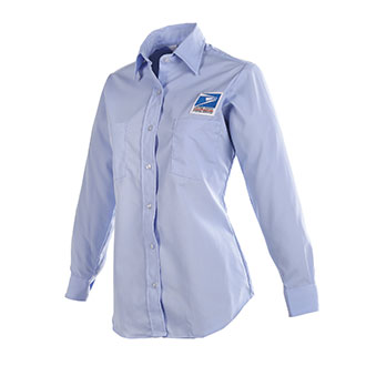 Postal Uniform Shirt Womens Long Sleeve for Letter Carriers and Motor Vehicle Service Operators (PX426)
