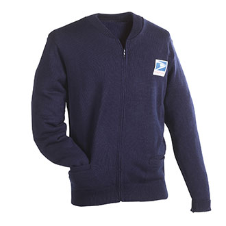 Postal Sweater Jersey Flat Knit for Letter Carriers and Motor Vehicle Service Operators (PX300)