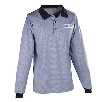 Postal Uniform Shirt Womens Polo Long Sleeve for Window Clerks (PX960)