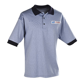 Postal Uniform Shirt Mens Polo Short Sleeve for Window Clerks (PX740)