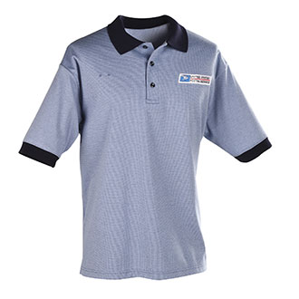 Postal Uniform Shirt Womens Polo Short Sleeve for Window Clerks (PX940)