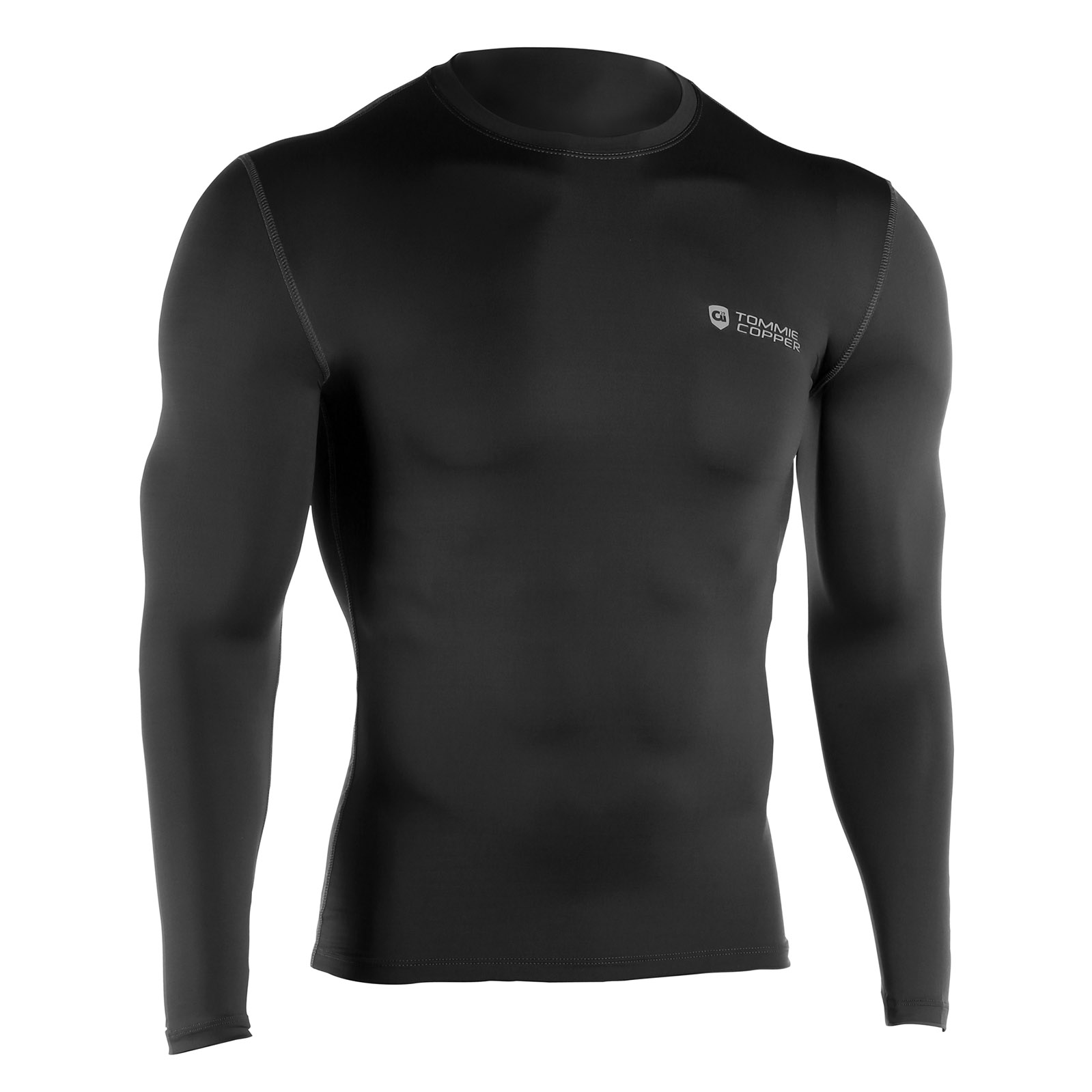 Tommie Copper Mens Long Sleeve Compression Shirt Non Reim